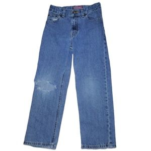 Boys Faded Glory Relaxed Fit Md Wash Jeans S 6 R